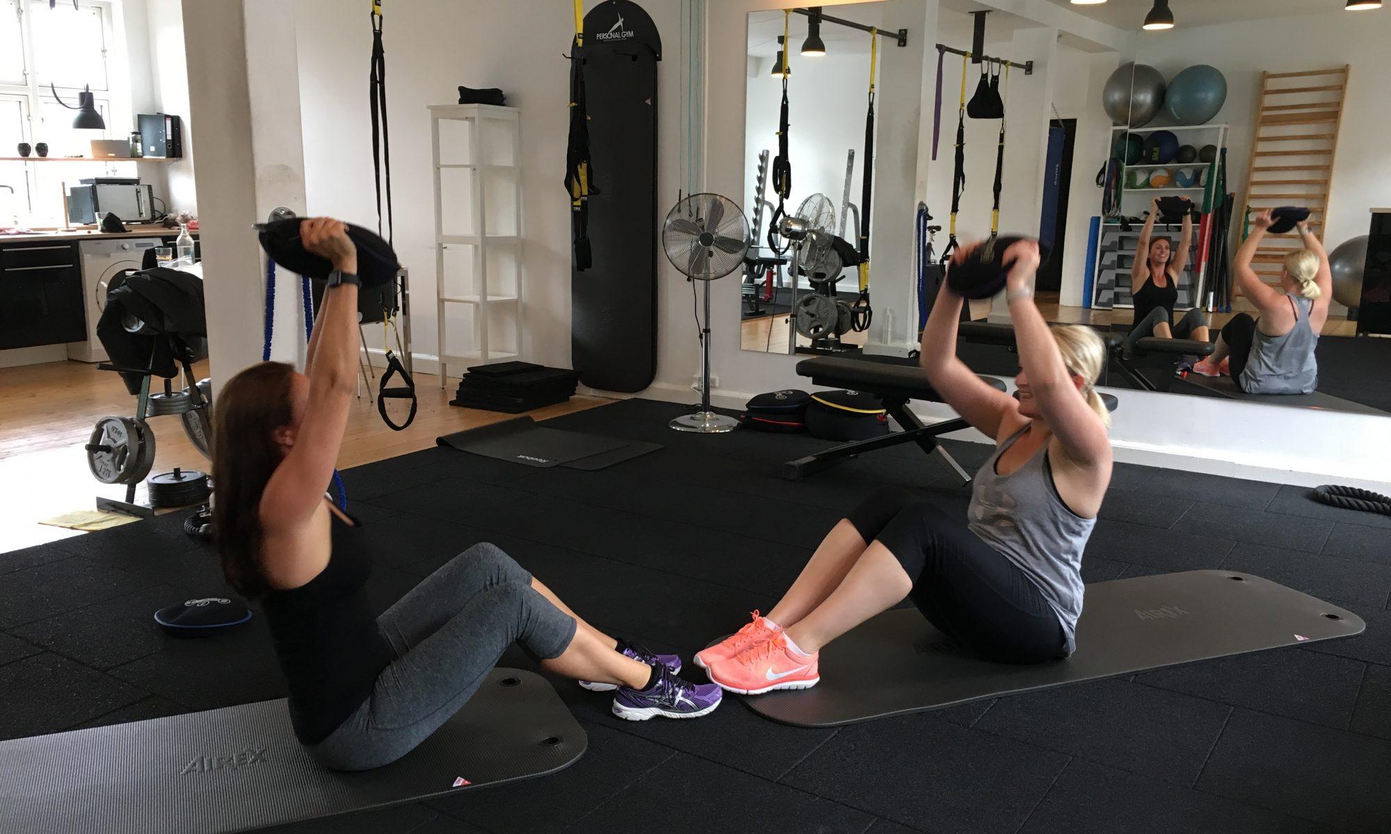 Funktionel Træning - Anja Maxmiling, Personlig Træner København. Personal Gym Valby