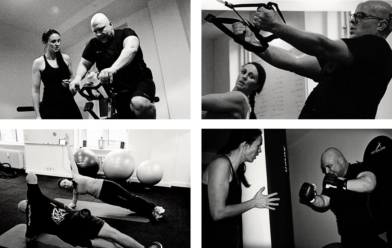 Trænings Sessioner i Valby København med Personlig Træner Anja Maxmiling